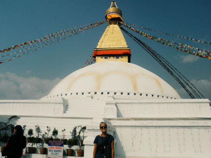 Boudhanath Stupa in Kathmandu valley