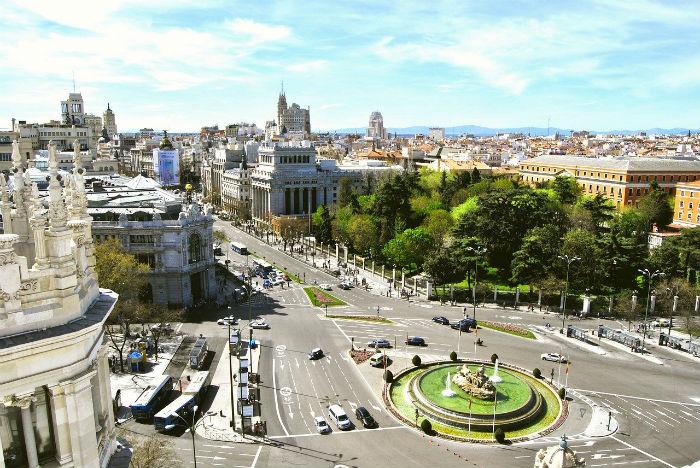 madrid-España-carretera-viaje