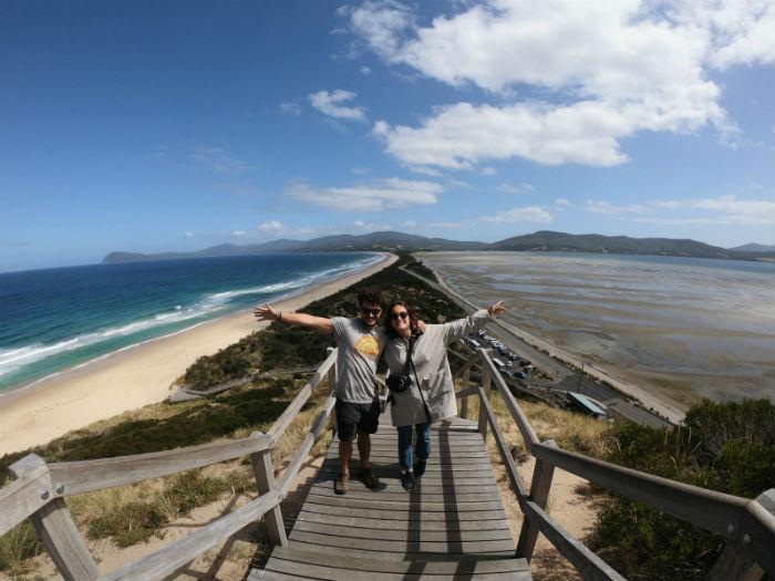 Auto-conduccion-Tasmania-Bruny-isla