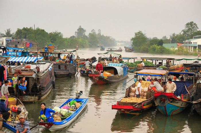 Vietnam-itinerario-3-semanas-flotante-mercado-mekong-delta-vietnam