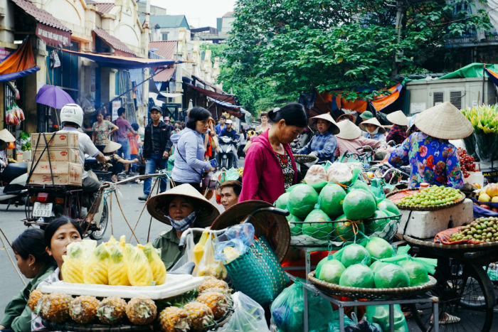 Old-quarter-hanoi-vietnam-itinerary-3-weeks