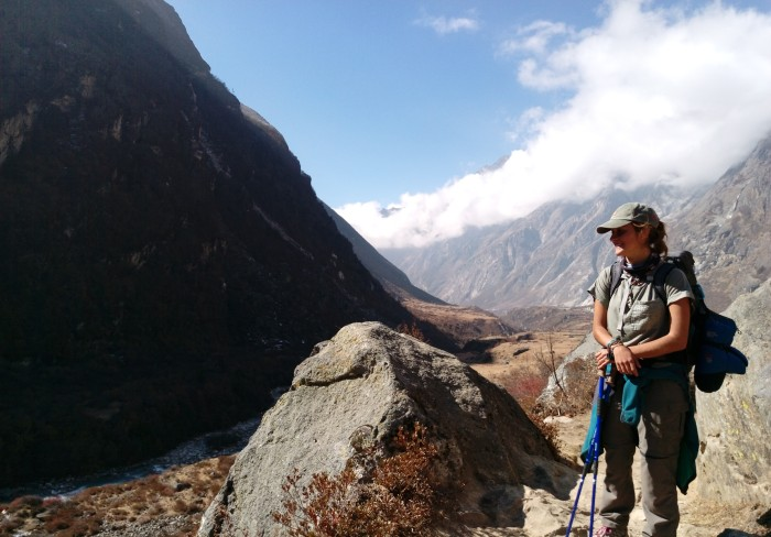 langtang-trek-female-traveler